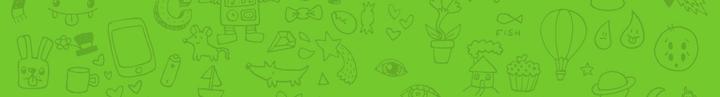 banner background doodle
