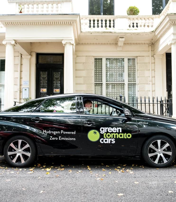 Our Eco-Friendly Taxi Services & Cars | Green Tomato Cars