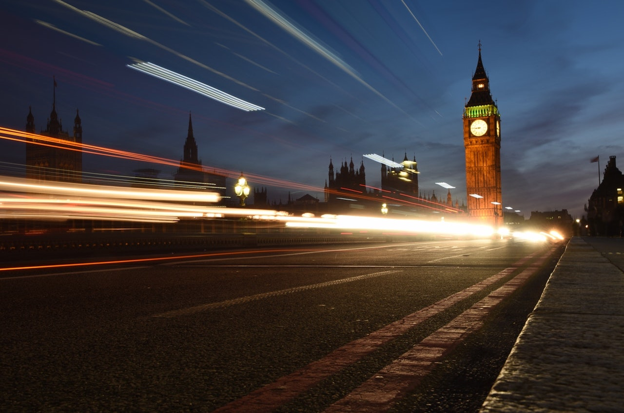 light pollution london
